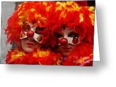 Carnevale Di Venezia 100 Greeting Card