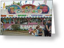 Carnival Candy Land Greeting Card