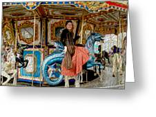 Carnival Day In Color Greeting Card