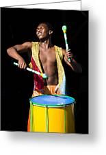 Carnival Drummer Greeting Card