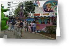 Carnival Ferris Wheel Greeting Card