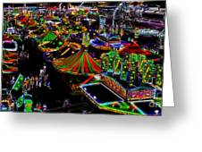 Carnival - Midway West Greeting Card
