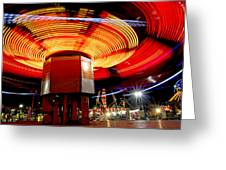 Carnival Ride 3  Greeting Card