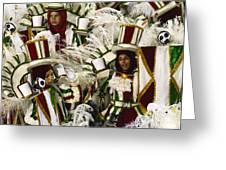 Carnival Rio De Janeiro 15 Greeting Card