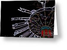 Carnival - Sky Swings Greeting Card