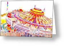 Carnival Sombrero Greeting Card