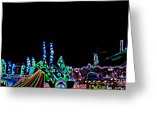 Carnival - Tent Tops Greeting Card