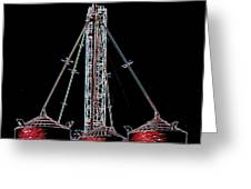 Carnival Towers Greeting Card