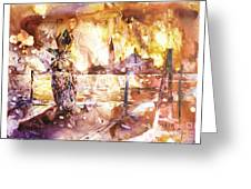 Carnivale- Italy Greeting Card