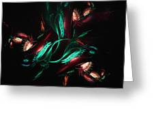 Carnivorous Flower Greeting Card