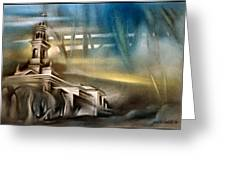 Carnota Cathedral 2006 Greeting Card
