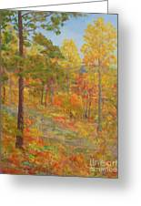 Carolina Autumn Gold Greeting Card