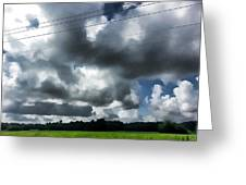 Carolina Clouds Greeting Card