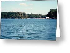 Carolina - Lake Norman Landscape Greeting Card