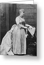 Caroline Lavinia Harrison (1832-1892) Greeting Card