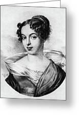 Caroline Unger-sabatier (1803-1877) Greeting Card