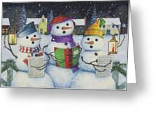 Caroling Greeting Card