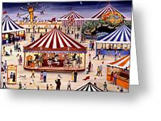 Carousel 90 Greeting Card