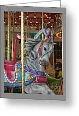 Carousel Go Round Greeting Card