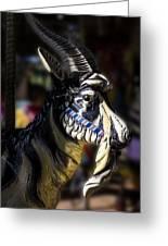 Carousel Goat Greeting Card