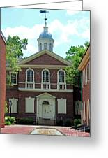 Carpenters Hall In Philadephia Greeting Card