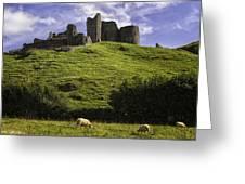 Carreg Cennan Castle Greeting Card