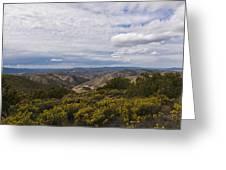Carrizo Canyon Greeting Card