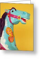 Carrosel Horse Greeting Card