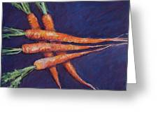 Carrot Stack Greeting Card by Kelley Smith
