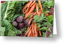 Carrots And Beets Greeting Card