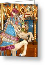 Carrousel 16 Greeting Card