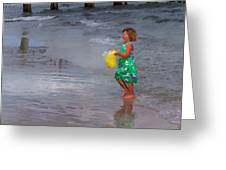 Carrying Water Greeting Card