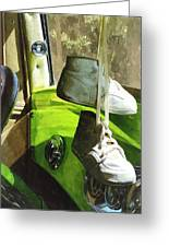 Cars - Baby Shoes Greeting Card