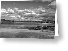 Carsington Beach Greeting Card