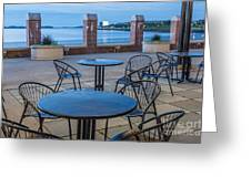 Carson Beach Cafe Greeting Card