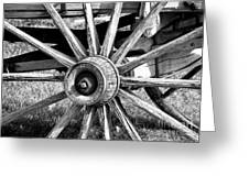 Cart Wheel Greeting Card