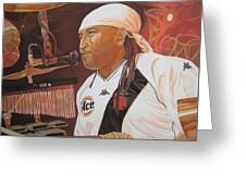 Carter Beauford At Red Rocks Greeting Card