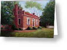 Carter House In Franklin Tennessee Greeting Card by Janet King