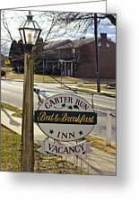 Carter Run Inn 1 Greeting Card
