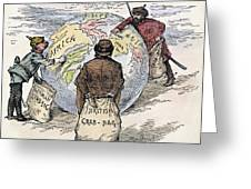 Cartoon Imperialism 1885 Drawing By Granger