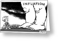 Inflation, 1978 Greeting Card