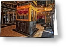Carver Theatre Box Office - Birmingham Alabama Greeting Card