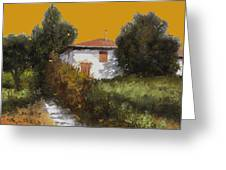 Casa Al Tramonto Greeting Card