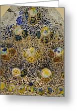 Casa Batllo Tiles Greeting Card