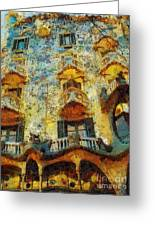 Casa Battlo Greeting Card by Mo T