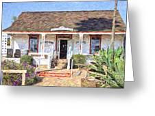 Casa De Pedrorena De Altamirano Greeting Card