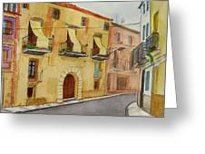 Casa In Ginestar Greeting Card