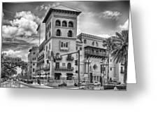 Casa Monica Hotel  Greeting Card