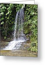 Cascada Pequena Greeting Card
