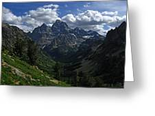 Cascade Canyon North Fork Greeting Card